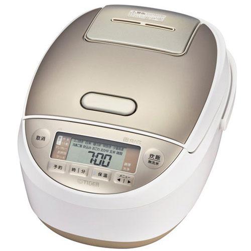 【長期保証付】タイガー魔法瓶 JPK-A100-W(ホワイト) 炊きたて 圧力IH炊飯ジャー 5.5合