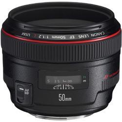 【送料無料】【在庫あり】【17時までのご注文完了で当日出荷可能!】CANON EF50mm F1.2L USM