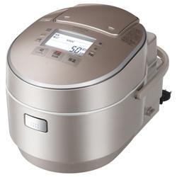 日立 RZ-VW3000M-N(シャンパン) 打込鉄釜 ふっくら御膳 圧力スチームIH炊飯器 5.5合