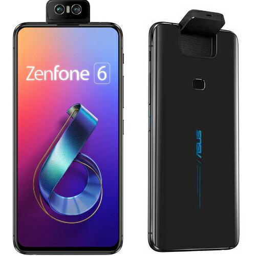 【送料無料】【在庫あり】14時までの注文で当日出荷可能!ASUS ZenFone 6(ミッドナイトブラック)...