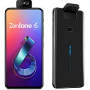 ASUS ZenFone 6(ミッドナイトブラック) 8GB/256GB SIMフリー ZS630KL-BK256S8
