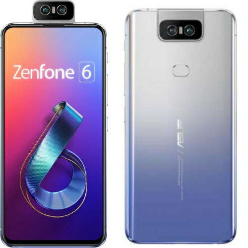 【送料無料】ASUS ZenFone 6(トワイライトシルバー) 8GB/256GB SIMフリー ZS630KL-SL256S8