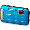 【送料無料】Panasonic DMC-FT25-A(ブルー) LUMIX