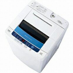 【送料無料】AQUA AQW-S60B-W (ホワイト) 全自動洗濯機 洗濯6kg