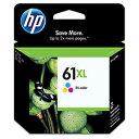 HP CH564WA 純正 HP61XL インクカートリッジ 3色マルチパック 増量