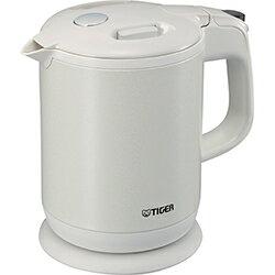 タイガー(TIGER) 蒸気レスわく子 電気ケトル 0.8L PCH-G080-WP(パールホワイト)
