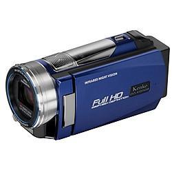 ケンコー DVSA10FHDIR IR LEDライト搭載 フルハイビジョンデジタルムービーカメラ 【送料無料】【在庫あり】16時までの注文で当日出荷可能!