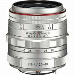 ペンタックス HD PENTAX-DA 20-40mmF2.8-4ED Limited DC WR(シルバー)
