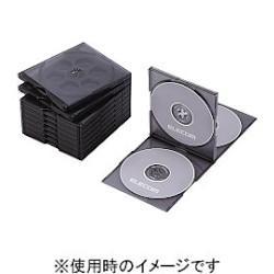 記録用メディアケース, CD・DVDケース  CCD-JSCNQ5CBK() Blu-rayDVDCD PS 4