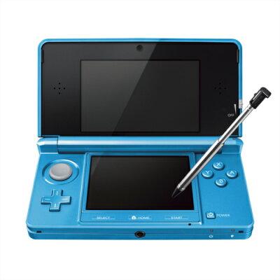 【送料無料】任天堂 3DS ライトブルー