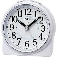 セイコー NR439W(白パール) PYXIS 目覚まし時計