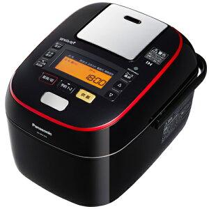 パナソニック SR-SPA105-K(ブラック) Wおどり炊き スチーム&可変IH炊飯器 5.5合