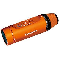 パナソニックHX-A1H-D(オレンジ)_ウェアラブルカメラ