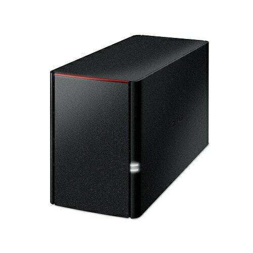 バッファロー LS220D0202C ネットワーク対応HDD 2TB 2ドライブ RAID対応
