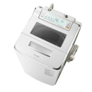 【設置+リサイクル+長期保証】パナソニック NA-JFA801-W(クリスタルホワイト) 全自動洗濯機...