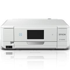 【長期保証付】エプソン Colorio EP-808AW(ホワイト) A4インクジェット複合機