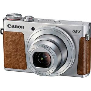 【送料無料】【在庫あり】【16時までのご注文完了で当日出荷可能!】CANON PowerShot G9 X(シル...