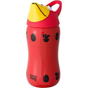 thermo mug サーモマグ アニマルボトル トリ レッド ひんやり 熱対策 アイス 冷感 保冷 冷却 熱中症 涼しい クール 冷たい