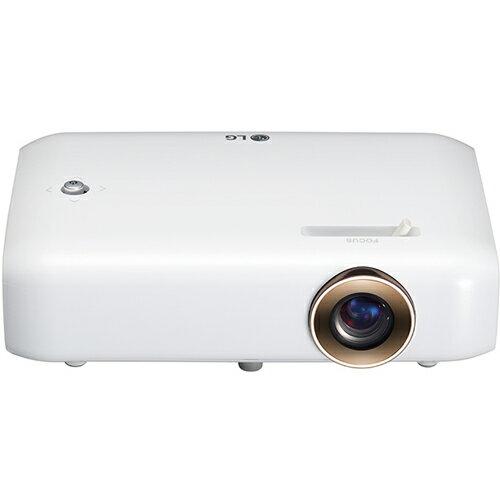 【長期保証付】ホームシアター LEDプロジェクター 550lm HD LGエレクトロニクス PH550G(ホワイト) Minibeam(ミニビーム)