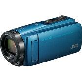 ビデオカメラ ビクター(JVC) 防水 防塵 耐衝撃 Everio R(エブリオ R) 64GB GZ-RX670-A(アクアブルー)