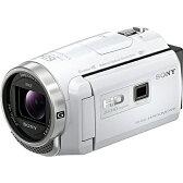 【長期保証付】ソニー HDR-PJ680-W(ホワイト) デジタルHDビデオカメラレコーダー 64GB