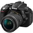 【長期保証付】ニコン(Nikon) デジタル一眼レフカメラ D5300 AF-P 18-55 VR ブラック レンズキット