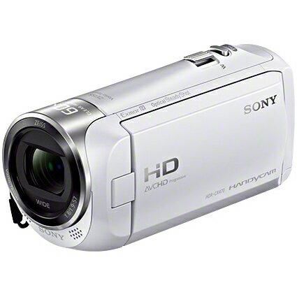 ソニーHDR-CX470-W(ホワイト)HandycamデジタルHDビデオカメラレコーダー32GB