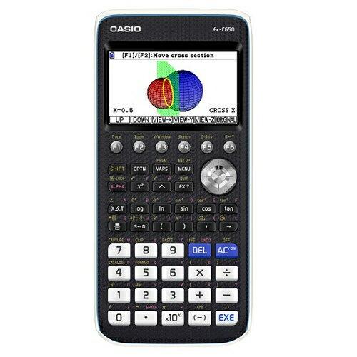 【長期保証付】CASIOfx-CG50(ブラック)カラーグラフ関数電卓10桁