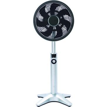 【長期保証付】ドウシシャ TLKF-1251D-SI(シルバー) 25cm DCリビング扇風機 カモメファン リモコン付 TLKF1251DSIひんやり 熱対策 アイス 冷感 保冷 冷却 熱中症 涼しい クール 冷気