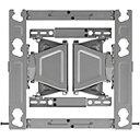 LGエレクトロニクス OLW480B EZスリムマウント(壁掛けブラケット)
