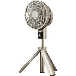 ドウシシャTLKF-1201D-CGD(シャンパンゴールド)_20cm_DCリビング扇風機_カモメファン_リモコン付