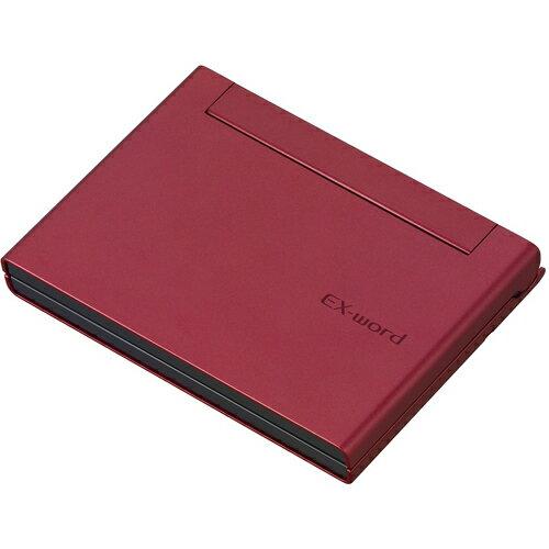CASIO XD-C400RD(レッド) EX-word(エクスワード) コンパクト 日本語モデル