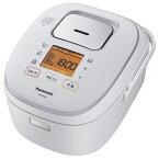 パナソニック SR-HB108-W(ホワイト) IHジャー炊飯器 5.5合
