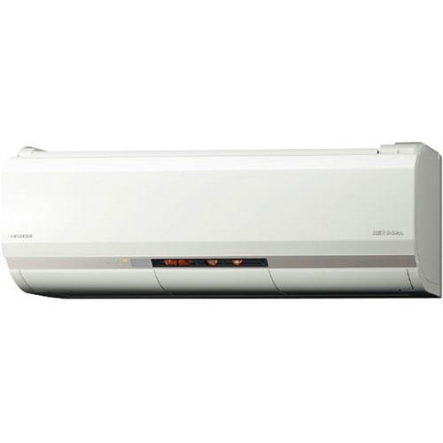 【長期保証付】日立 RAS-XK25J-W(スターホワイト) メガ暖 白くまくん 8畳 電源100V