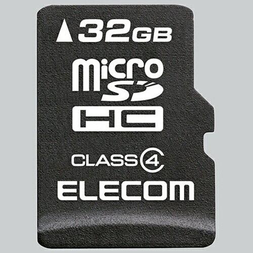 メモリーカード, SDメモリーカード  MF-MSD032GC4R microSDHC 32GB CLASS4