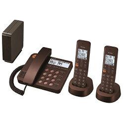 シャープJD-XG1CW-T(ブラウンメタリック)_デジタルコードレス電話機_子機2台