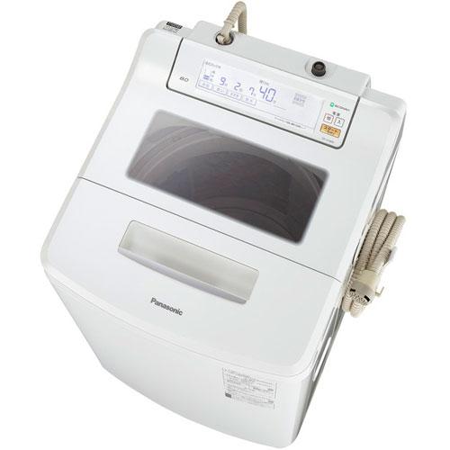 パナソニック NA-JFA806-W(ホワイト) 全自動洗濯機 上開き 洗濯8kg