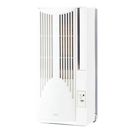 【設置+長期保証】コイズミ KAW-1692-W(ホワイト) ウインドウエアコン 冷房除湿専用 主に4.5畳~7畳