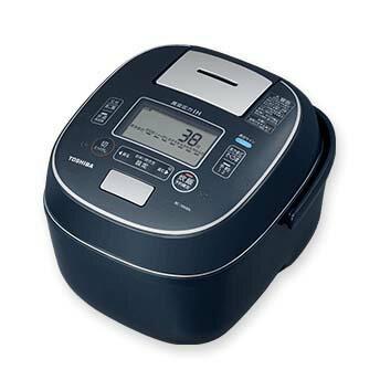 東芝 RC-10VXN-L(インディゴブルー) 合わせ炊き 真空圧力IHジャー炊飯器 5.5合