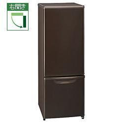 【送料無料】Panasonic NR-B173W-T(ブラウン) 168L 2ドア冷凍冷蔵庫