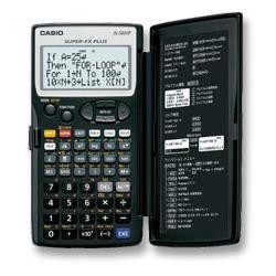 fx-5800P 関数電卓 プログラム機能