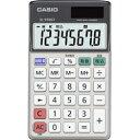 CASIO パーソナル電卓 8桁表示 手帳タイプ SL-910GT-N SL910GTN