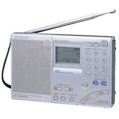 【送料無料】SONY ICF-SW7600GR FMステレオ/LW/MW/SW PLLシンセサイザーレシーバー【smtb-u】