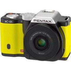 【送料無料】【在庫あり】【15時までのご注文完了で当日出荷可能!】PENTAX K-01 レンズキット(...