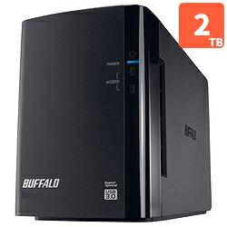 バッファローHD-WL2TU3/R1J_外付HDD_2TB_USB3.0接続_RAID対応_2ドライブ