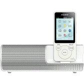 ソニー NW-S14K-W(ホワイト) ウォークマンSシリーズ 8GB スピーカー付属