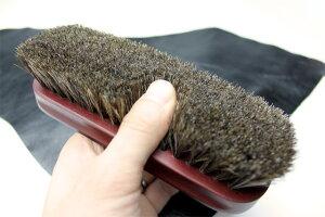 コロニル馬毛ブラシほこり払いやツヤ出しに!!コロニル馬毛ブラシ革のメンテナンスに最適です。【駅伝_関東】