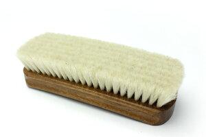 ファインポリッシングブラシほこり払いやツヤ出しに!!最高級山羊毛ブラシ革のメンテナンスに最適です。【駅伝_関東】