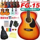 アコースティックギター 初心者 超入門 8点セット アコギ Legend FG-15 超入門 スター...