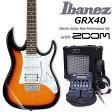 エレキギター初心者 アイバニーズ Ibanez GRX40 TFB入門セット16点【エレキギター初心者】【送料無料】